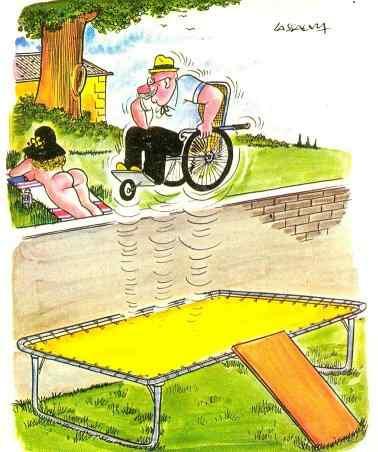 trampolien